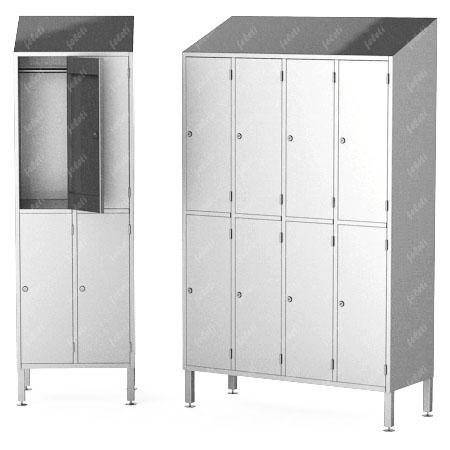 Шкаф гардеробный многосекционный