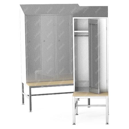 Шкаф гардеробный ШГC