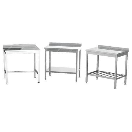 Столы разделочные с бортом